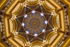 Emirat-Palast-Hotel-Haube Stockfotografie