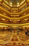 Emirat-Palast-Hotel-Innenraum, Abu Dhabi Stockfotos