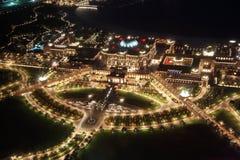 Emirat-Palast nachts. Abu Dhabi Stockfotografie