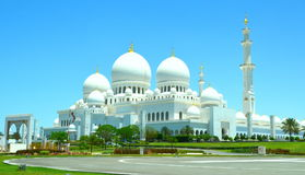 Emirate& x27 ; mosquée grande de s Images stock