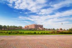 Emirate Palast und Gärten in Abu Dhabi Lizenzfreie Stockbilder