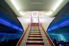 Emirater A380 Arkivfoto