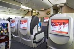 Emirater Boeing-777 Royaltyfri Bild
