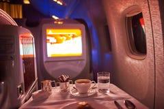 Emirater Boeing-777 Royaltyfria Bilder