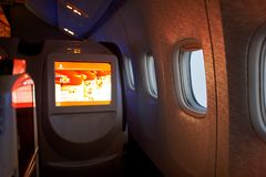 Emirater Boeing-777 Arkivfoton