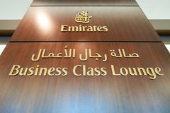 emirates Royaltyfri Foto