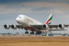 emirates Foto de Stock Royalty Free