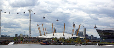 The Emirates Air Line Stock Image