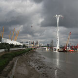 The Emirates Air Line cable car London Stock Photography
