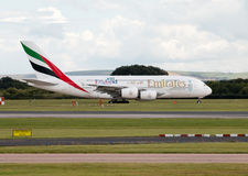 Emirates A380 Stock Images