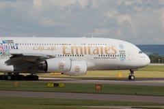 Emirates A380 Stock Photos