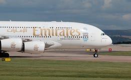Emirates A380 Stock Image
