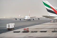 Emirates Airbus A380 Stock Image