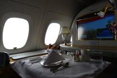 Emirates Airbus A380 Royalty Free Stock Photos