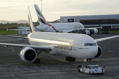 Emirates Airline Stock Image
