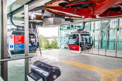 Emirates airline cable car, London, England. Stock Photography