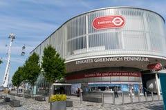Emirates Airline Gondola station stock image