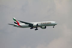 Emirates airlines Stock Image