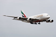 Emirates Airlines Airbus A380 Royalty Free Stock Image