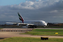 Emirates Airlines Airbus A380 Royalty Free Stock Images