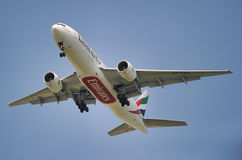 Emirates Airlines Boeing 777 Stock Photos