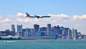 Emirates Airlines Plane stock photo