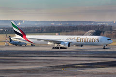 Emirates Airlines Royalty Free Stock Photography