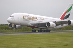 Emirates Airways A380 Stock Image