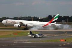 Emirates Boeing 777-300ER Royaltyfri Foto