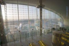 Emirates Boeing 777 at Dubai Airport Stock Photos