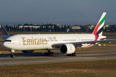 Emirates Boeing 777-300ER Stock Photo