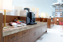 Emirates business class lounge Royalty Free Stock Photography