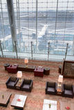 Emirates business class lounge Royalty Free Stock Photos