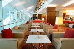 Emirates business class lounge Stock Image