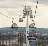 Emirates Cable Car Royalty Free Stock Image