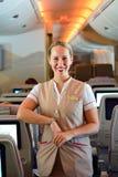 Emirates crew member Stock Photo