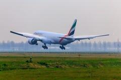 Emirates at dusk Stock Photos