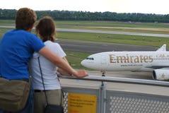 emirates förbiser Royaltyfri Foto