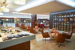Emirates first class lounge Royalty Free Stock Photos