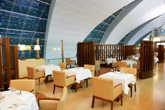 Emirates first class lounge Stock Photography