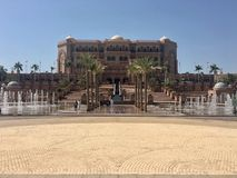 Emirates Palace stock photo
