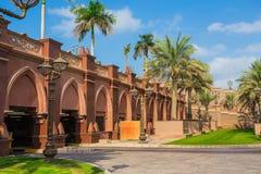 Emirates Palace in Abu Dhab Stock Photo