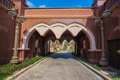 Emirates Palace in Abu Dhab Royalty Free Stock Image
