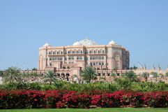 Emirates Palace in Abu Dhabi Stock Photos