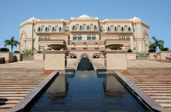 Emirates Palace in Abu Dhabi Royalty Free Stock Photos