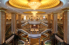 Emirates Palace in Abu Dhabi Royalty Free Stock Image