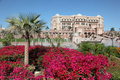 Emirates Palace in Abu Dhabi Stock Image