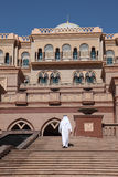 Emirates Palace in Abu Dhabi Stock Photography