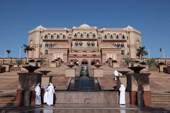 Emirates Palace in Abu Dhabi Royalty Free Stock Photo