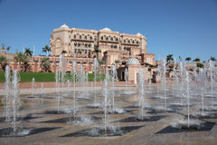 Emirates Palace in Abu Dhabi Royalty Free Stock Photography